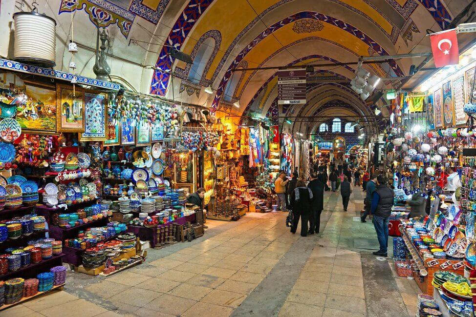 Bild Basar Türkei