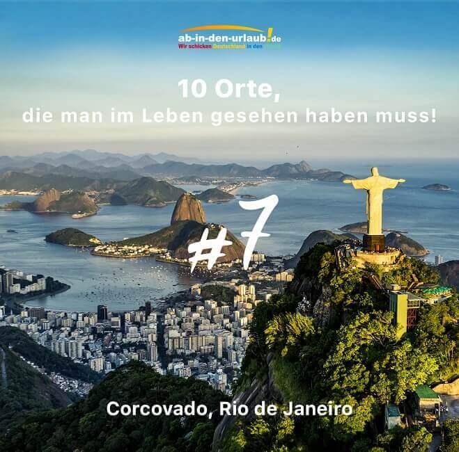 Der Corcovado in Brasilien ist ein inoffizielles Weltwunder.