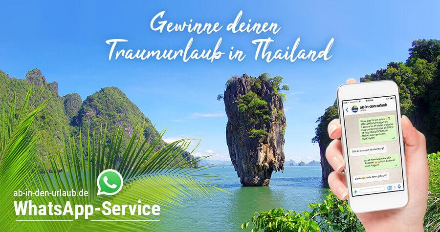 Bild Traumurlaub in Thailand gewinnen