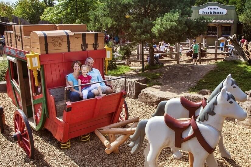 Bild Aufregende Westernstadt im PLAYMOBIL FunPark