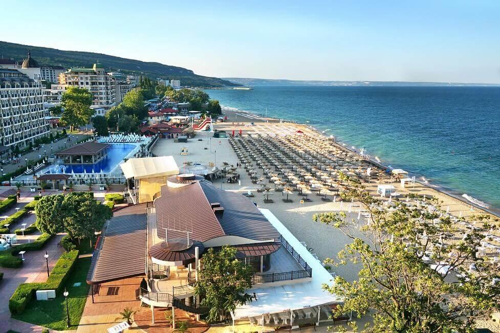 Der Sonnenstrand in Bulgarien