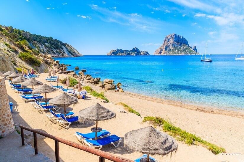 Bild Strand Cala d'Hort, Mallorca