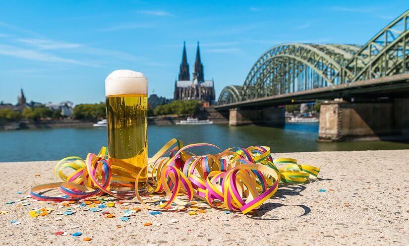 Bild Karneval in Köln feiern
