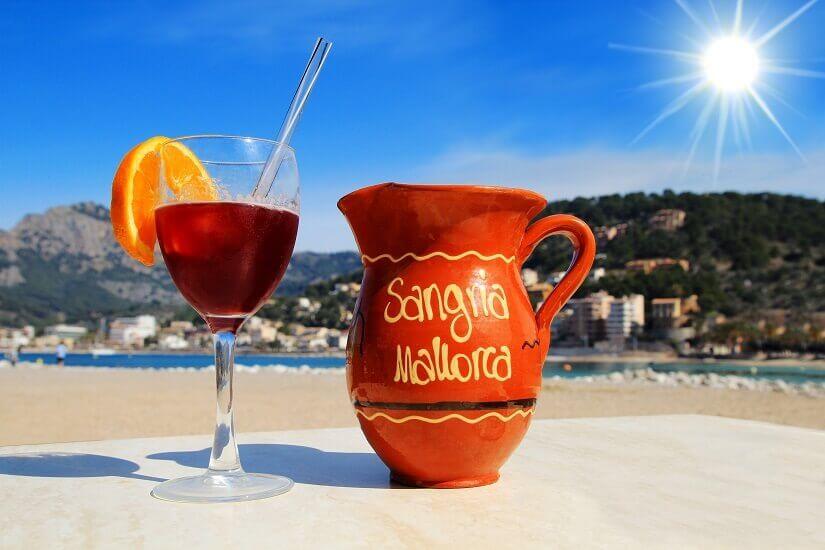 Bild Sangria trinken auf Mallorca