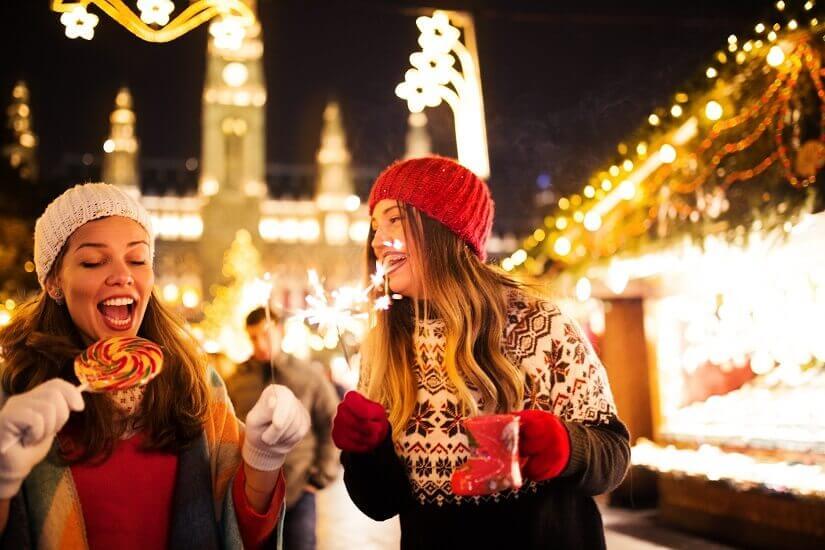 Bild Weihnachtsmärkte im Dezember besuchen