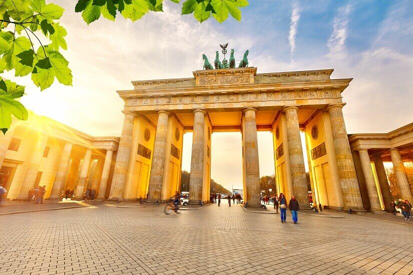 Bild Brandenburger Tor in Berlin