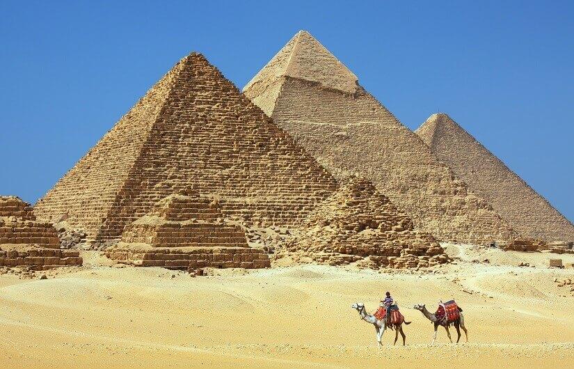 Bild Die berühmten Pyramiden von Gizeh