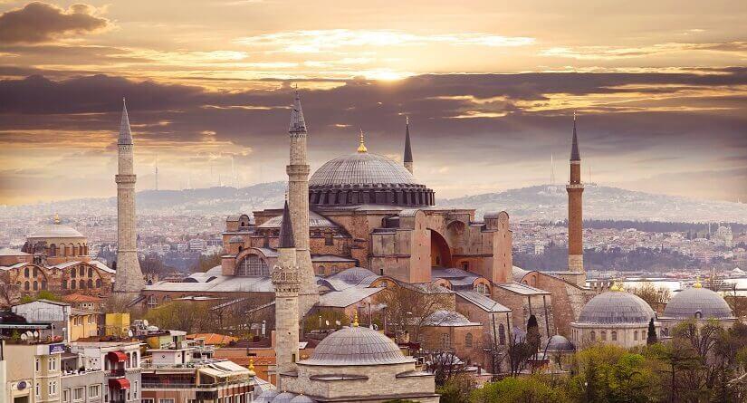 Bild Hagia Sophia in Istanbul, Türkei