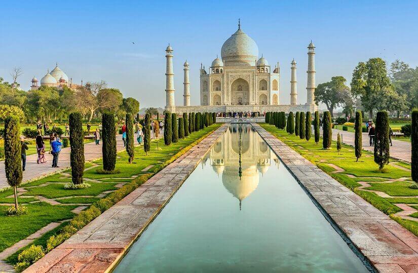 Bild Das Taj Mahal ist eigentlich ein Mausoleum