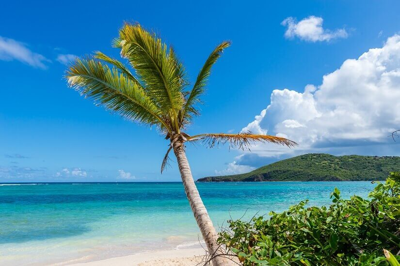Bild Flamenco Beach in Puerto Rico