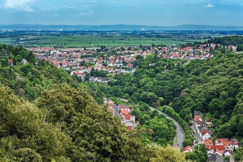 Bild Die Kurstadt Bad Dürkheim in Rheinland-Pfalz