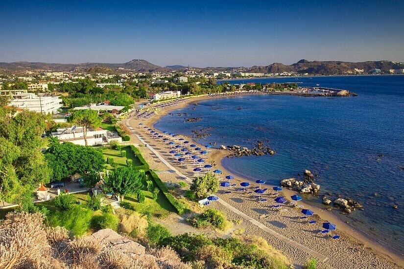 Bild Rhodos Strand von Faliraki
