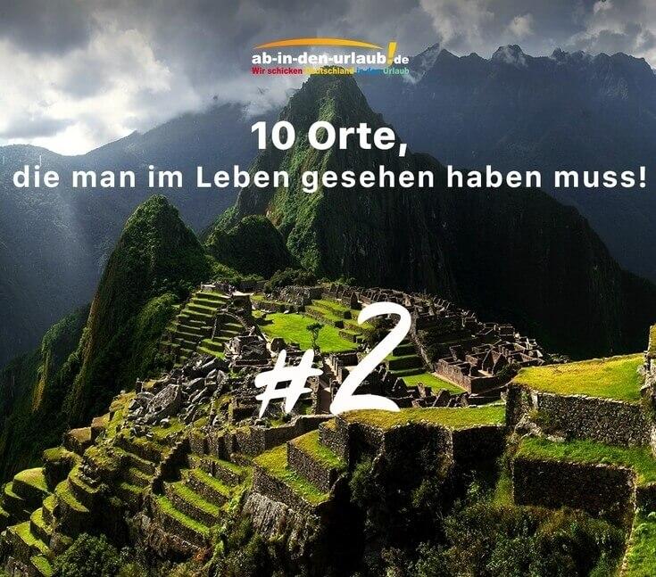 Machu Picchu Peru Inkastadt