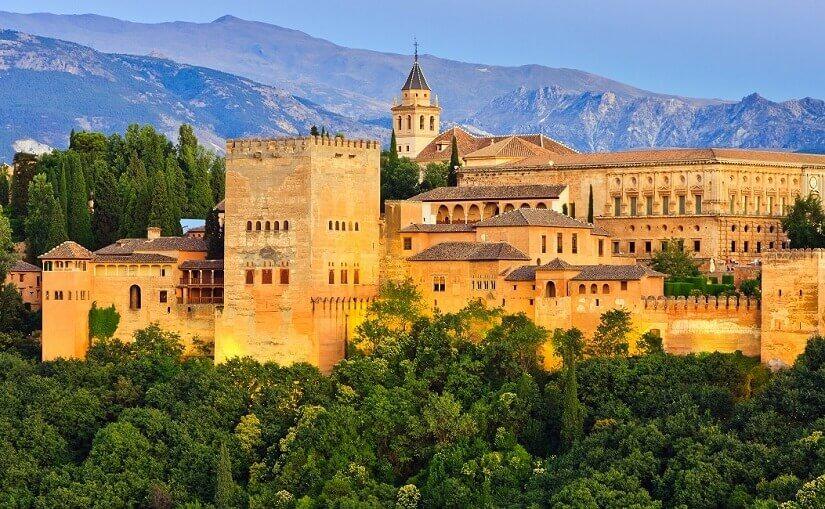 Bild Die majestätische Alhambra in Spanien