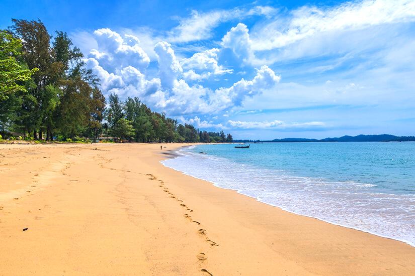 Khuk Khak Beach in Khao Lak