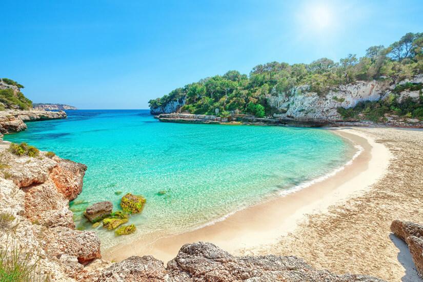 Cala Llombards auf Mallorca