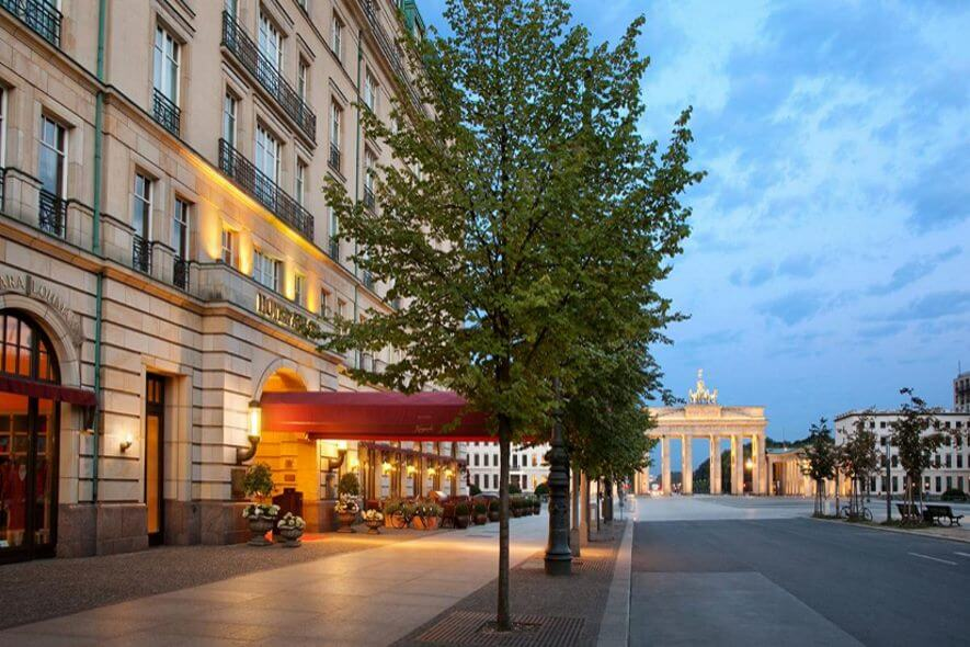 Hotel In Berlin Am Brandenburger Tor