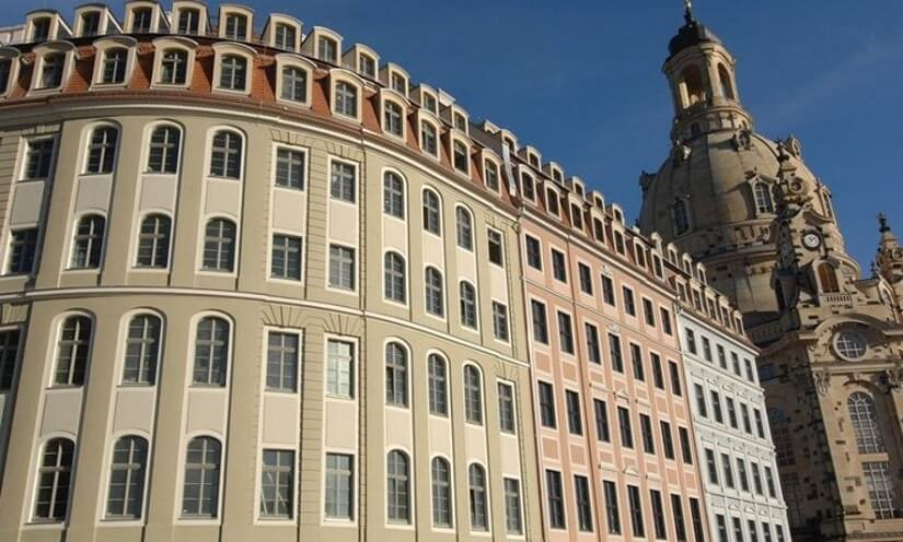 Bild Außenansicht des Hotels Vienna House in Dresden