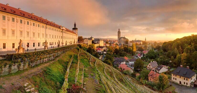 Kuntná Hote in Tschechien ist ein beliebtes Städtereiseziel.