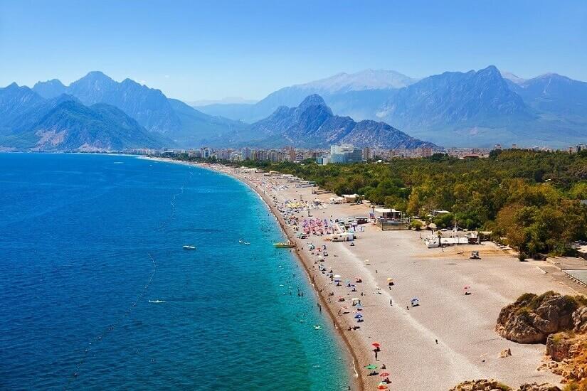 Bild Die Herbstferien kann man gut in der Türkei verbringen