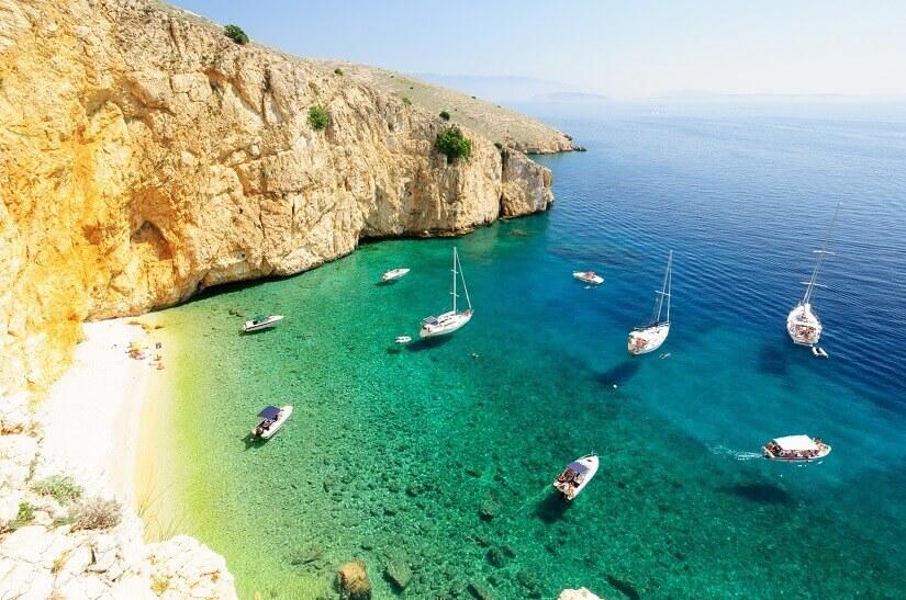 Bild Mit der Familie geht es nach Kroatien, hier die Insel Krk