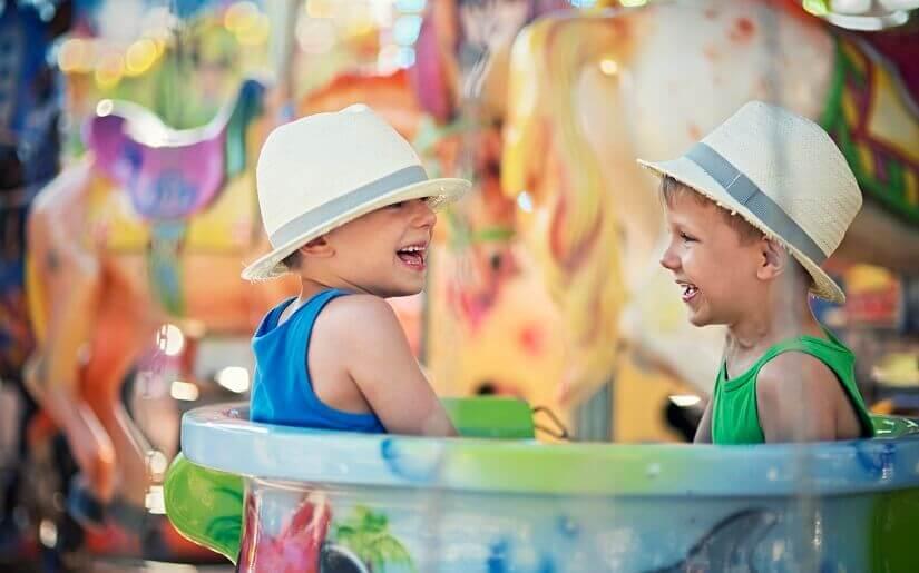 Bild Kinderspaß im Freizeitpark