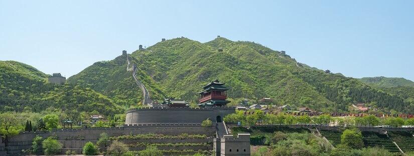 Wolkenterrasse am Juyongguan-Pass