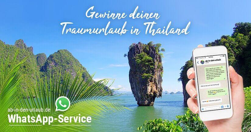 Bild Traumurlaub in Thailand zu gewinnen