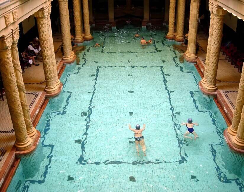 Gellert Bad in Budapest