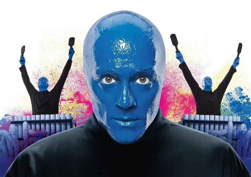 Bild Die Blue man Group ist ein besonderes Bühnenhighlight