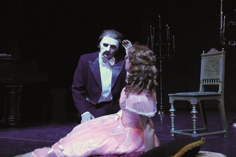 Bild Das Phantom der Oper trifft auf Christine