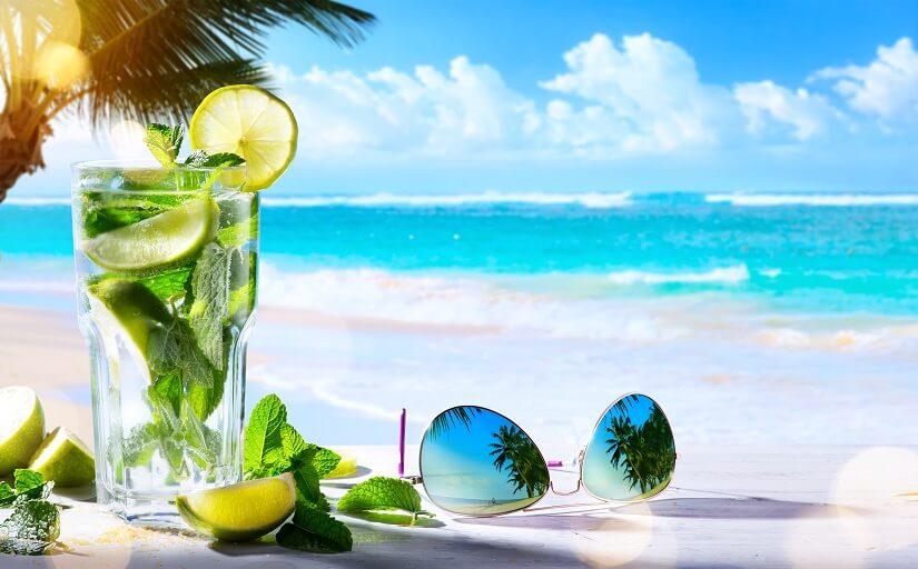 Kuba Strand und Cuba Libre