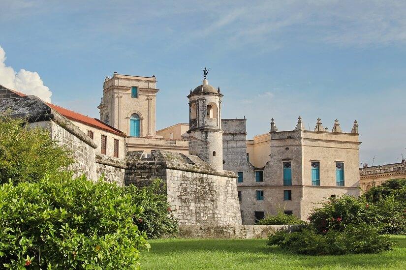 Festung, Burg, Denkmal, Castillo de la Real Fuerza in Havanna auf Kuba