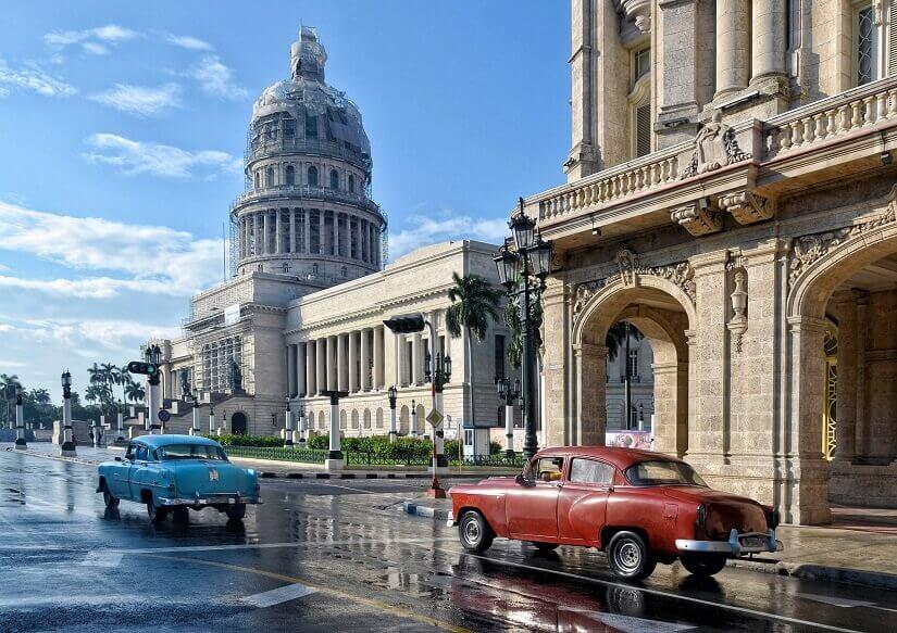 El Capitolio, das Kapitol in Havanna auf Kuba
