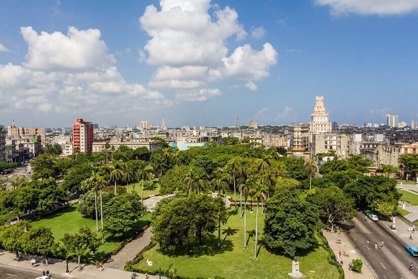 Parque Central in Havanna auf Kuba