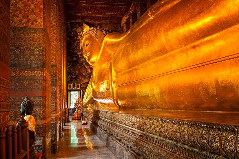 Tempel Wat Pho in Bangkok