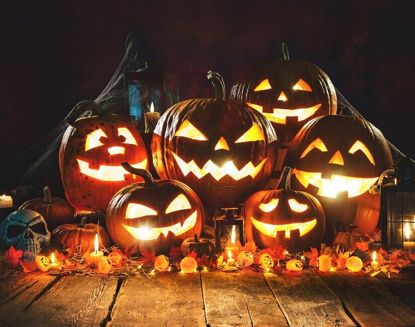 Halloween-Kürbisse lassen euch nicht im Dunkeln