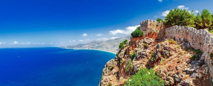 Türkische Riviera bei Alanya