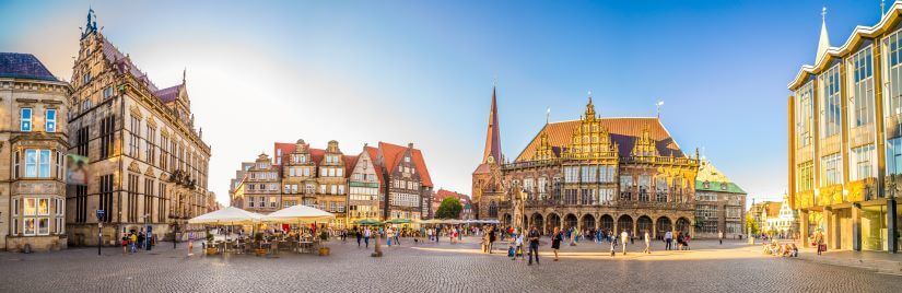Blick auf Bremer Altstadt