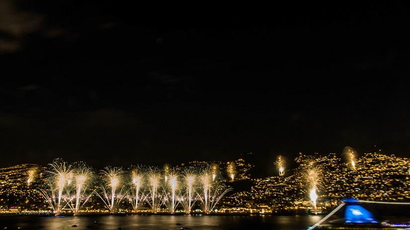 Feuerwerk auf Madeira