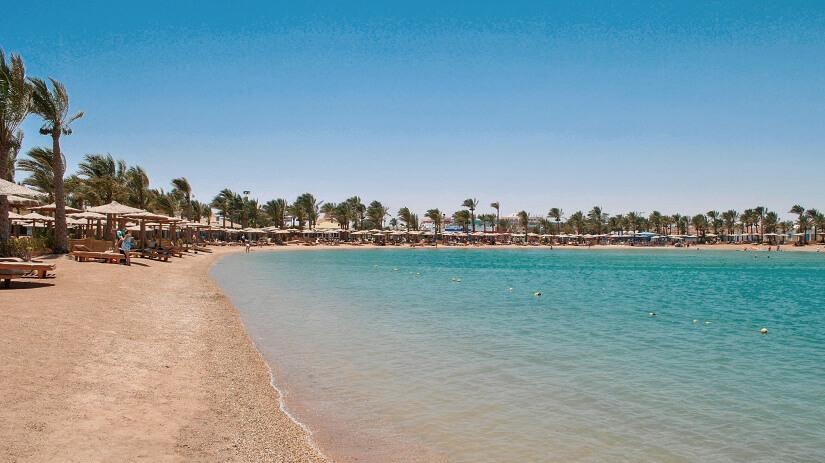 Golden Beach in Hurghada