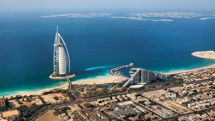 Strand in Dubai