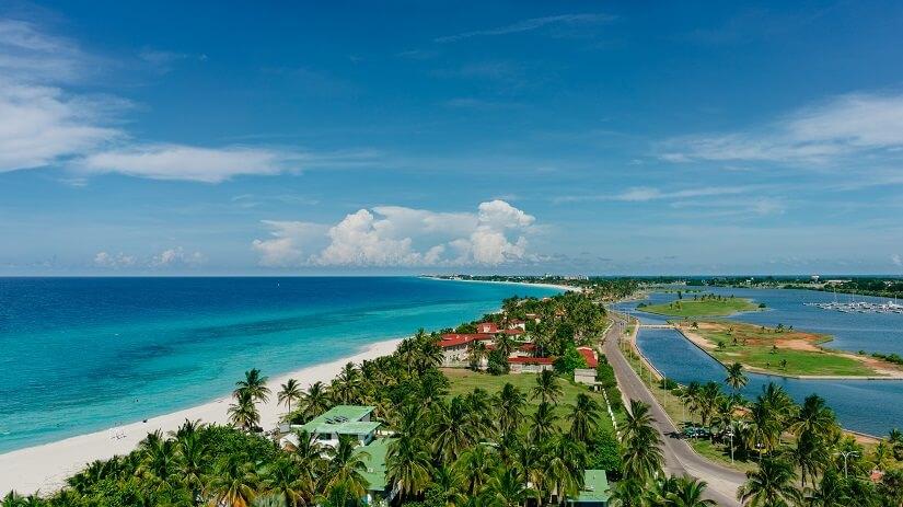 Strand in Varadero auf Kuba