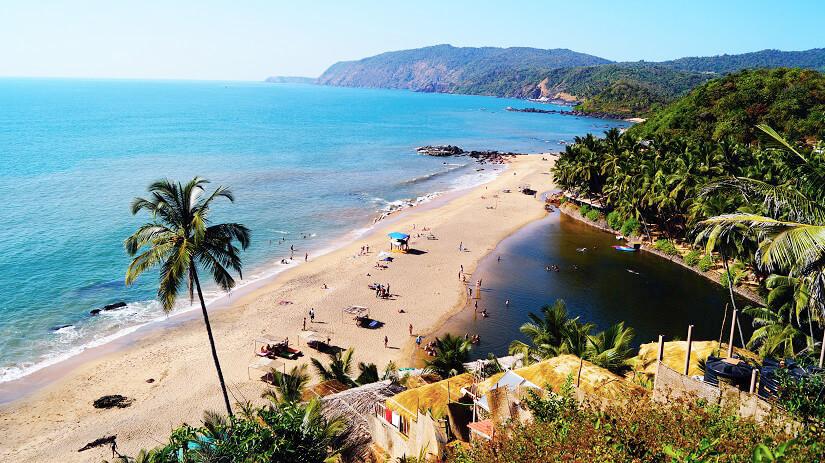 Der Cola Beach in Goa