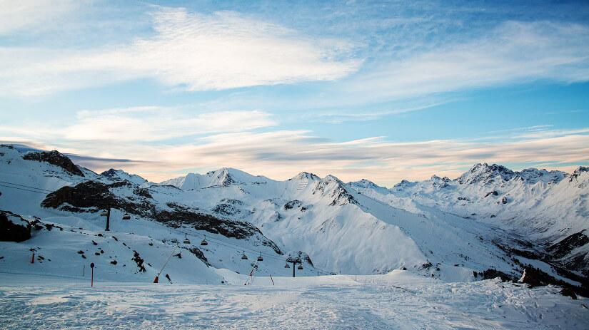 Skigebiet Ischgl in Tirol