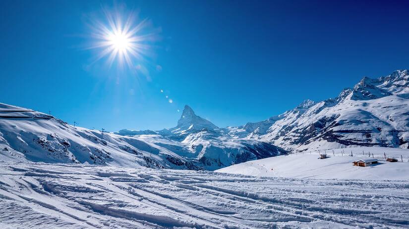 Matterhorn bei Zermatt im Wallis