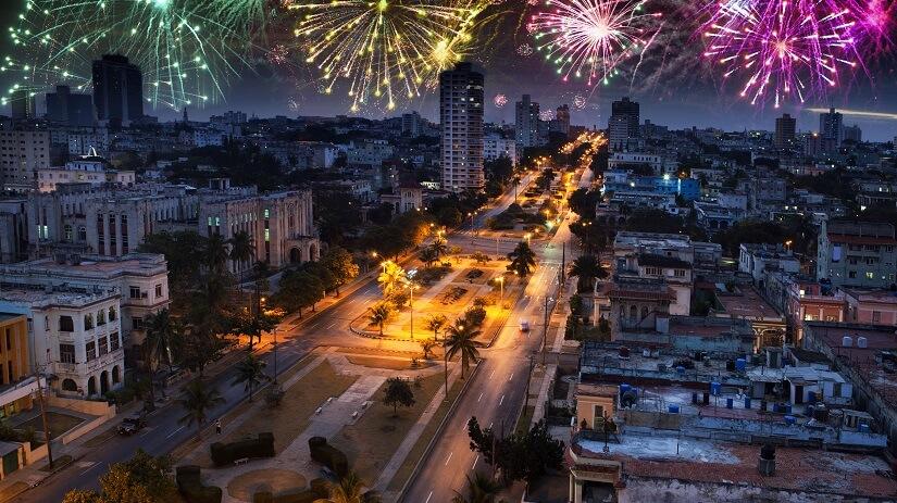 Silvester in Havanna