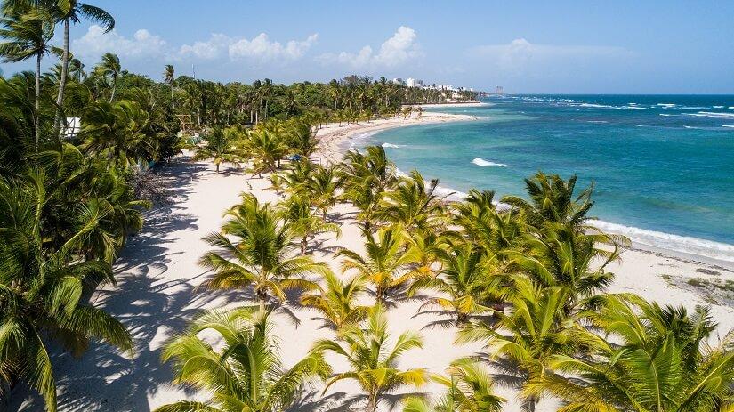Juan Dolio Beach Dominikanische Republik