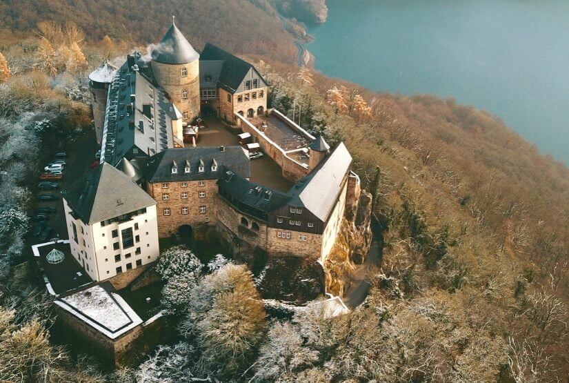 Schloss Waldeck in Hessen