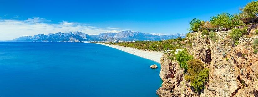 Küste bei Antalya